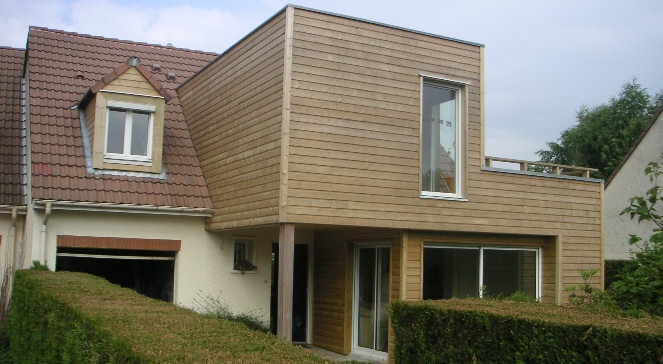 Extension maison yonne artisan travaux villecresnes 94 for Agrandissement maison individuelle