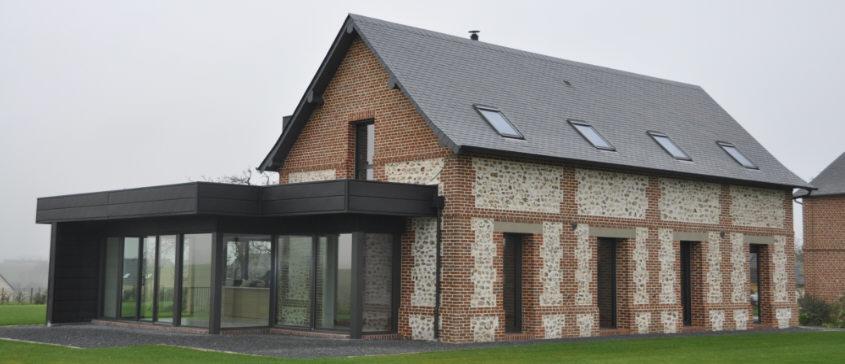 extension vitree affordable fermeture duextension avec baie vitre en aluminium gris anthracite. Black Bedroom Furniture Sets. Home Design Ideas